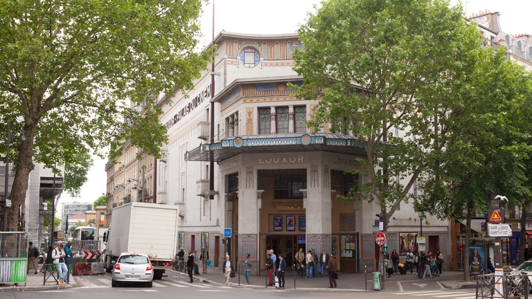 Egyptian styled Le Louxor movie theatre by architect Henri Zipcy 1921