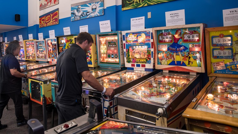 Seattle Pinball Museum. Photo by Alabastro Photography.