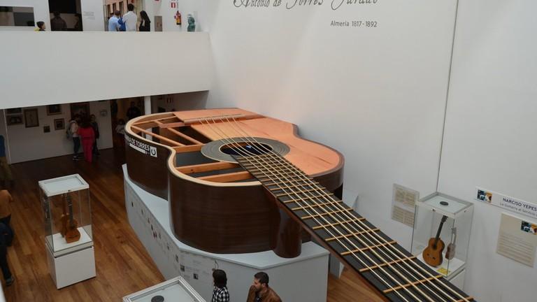 the Guitar Museum, Almería