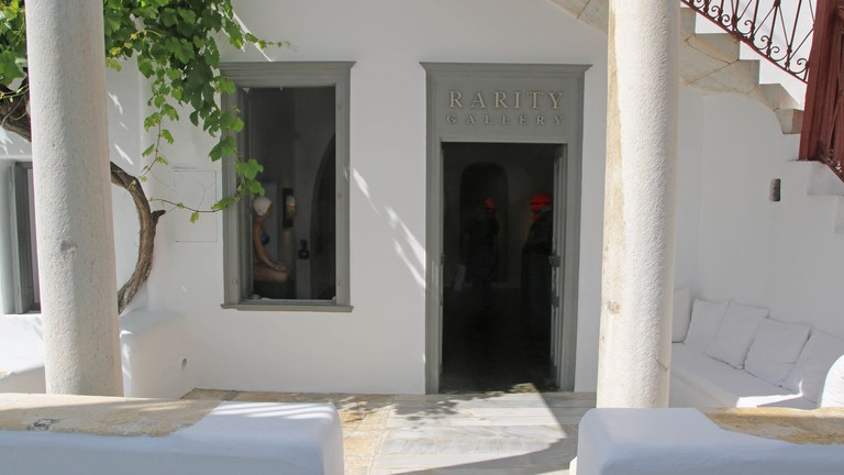 Rarity Gallery is set in a former Mykonian manor house