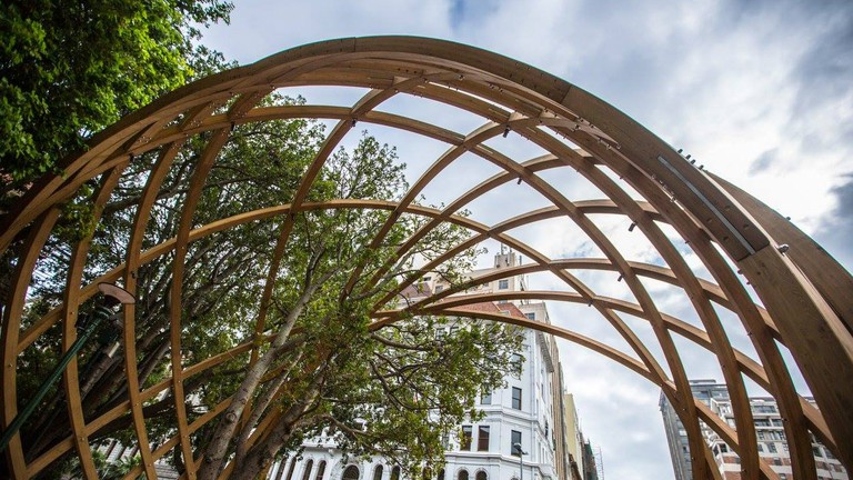 'Arch for Arch' celebrates the work of Archbishop Desmond Tutu