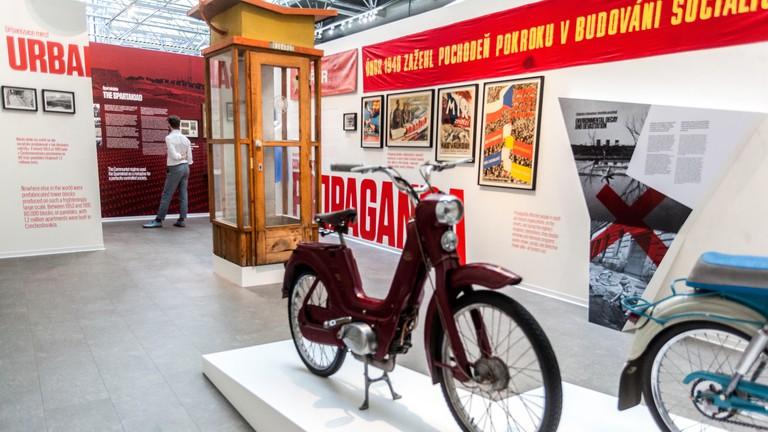 Museum of Communism, Prague, Czech Republic.