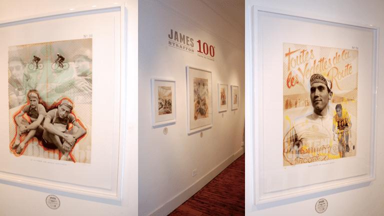 James Straffrom display