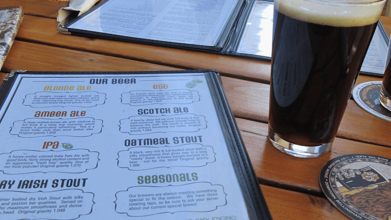 Boundary Bay Brewery is a lively venue, specializing in handcrafted award winning beers