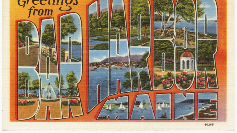 A popular destination since the 19th Century Bar Harbor, Maine