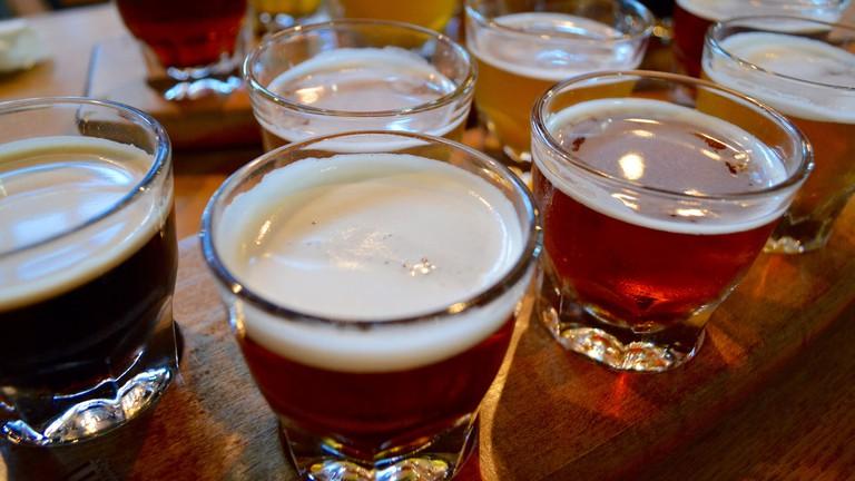 Range of beers