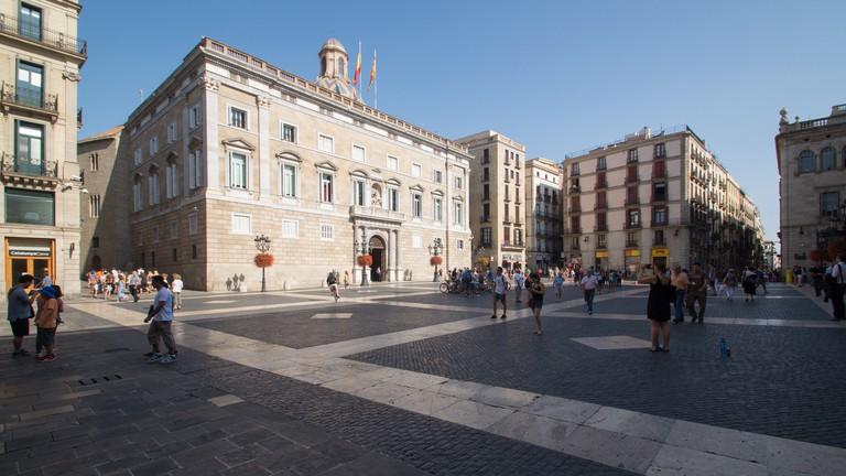Plaça Sant Jaume, Barcelona