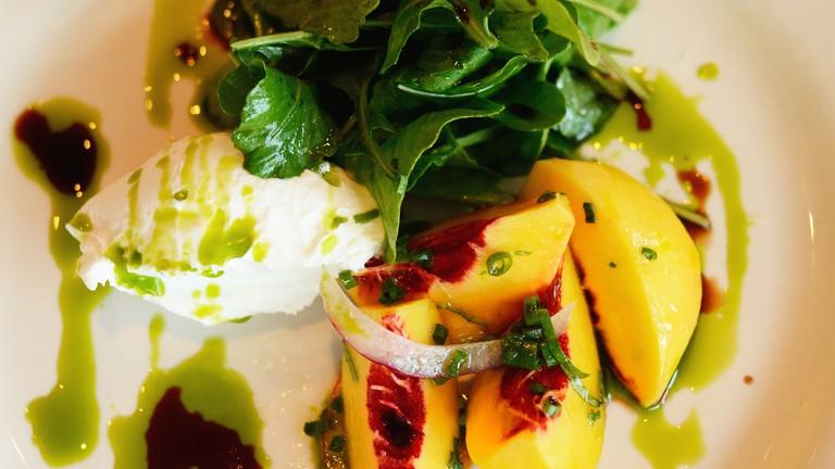 Marinated fruit