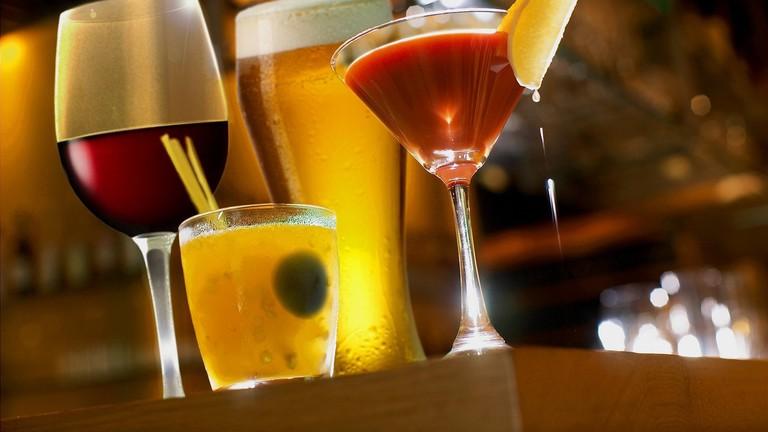 Diverse drinks