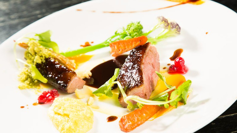 Main course at Tchaikovsky