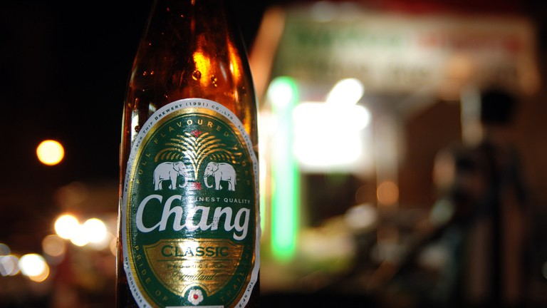 Sink a Chang beer or two at Cheap Charlie's