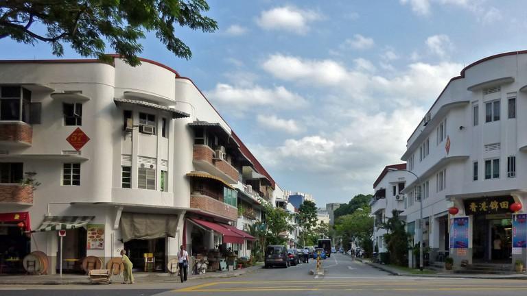 Tiong Bahru main retail street
