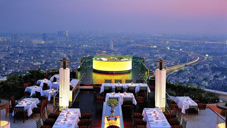 Enjoy the best dinnertime views at Sirocco