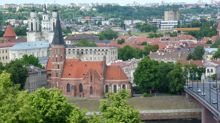 View of Vytautas the Great Church
