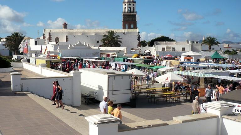 Teguise, Markt