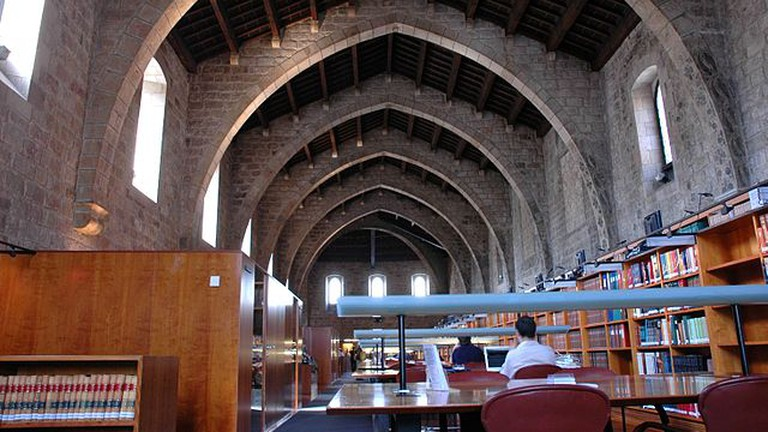 Library of Catalonia in Barcelona