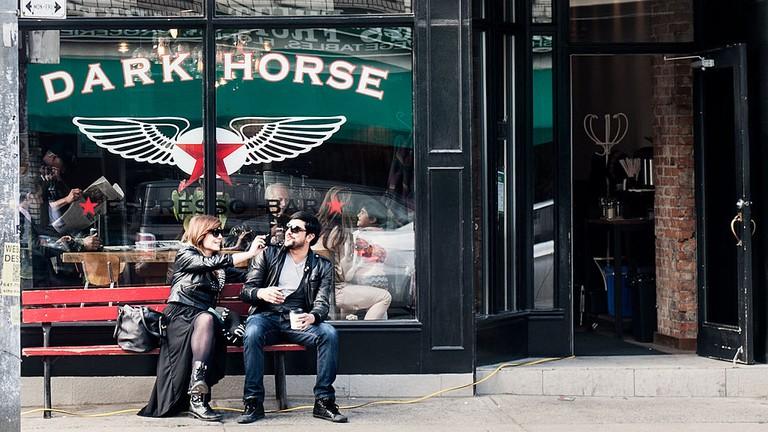 Caffeine Dispenser, Dark Horse Espresso Bar