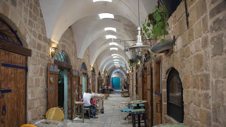 Turkish Bazaar in Akko