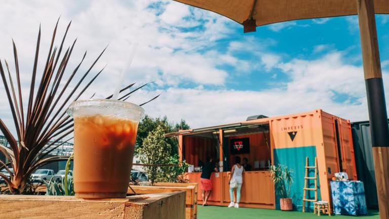 Shreebs coffee . Photo credit: David Benhaim of Ready Go Pictures.
