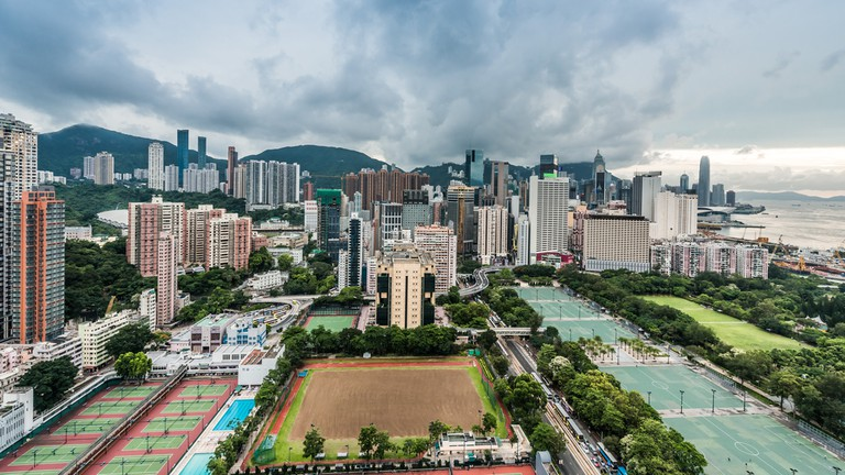 Victoria Park Causeway Bay in Hong Kong │