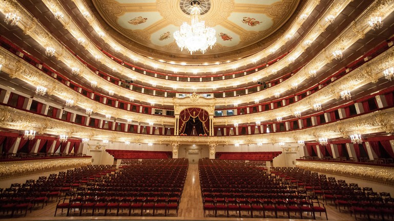 The Bolshoi Theater, Moscow