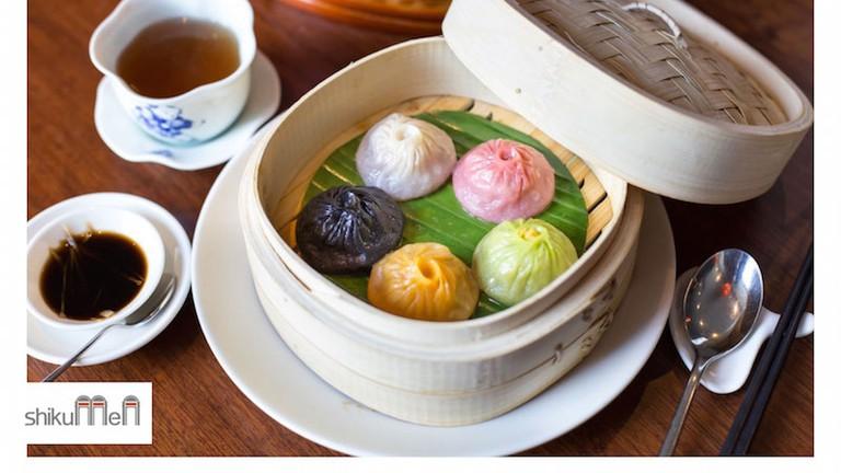 Shikumen are providing a new selection of coloured Xiao Long Bao (soup dumplings)