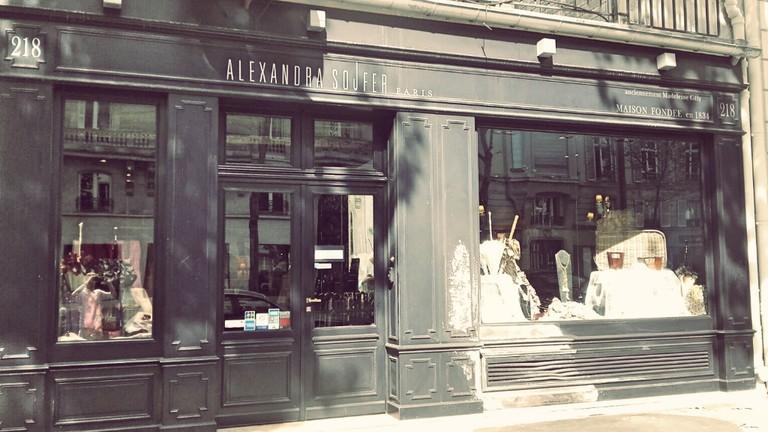 Alexandra Sojfer store Saint-Germain