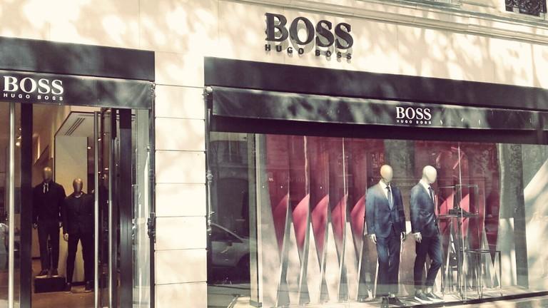BOSS store Saint-Germain
