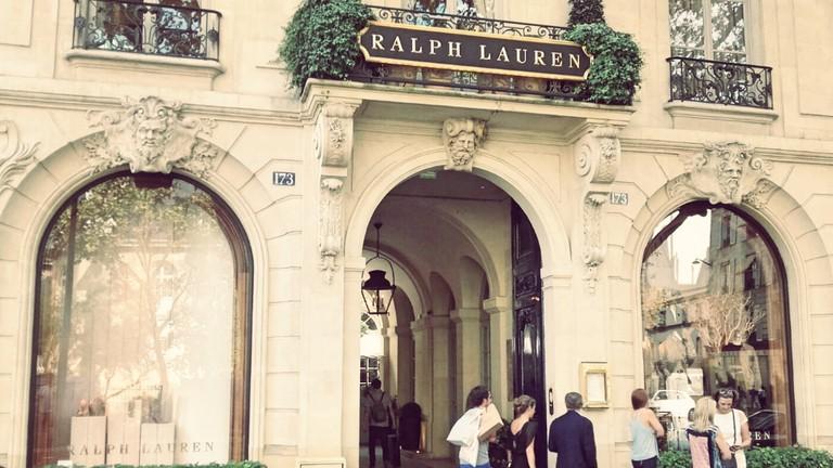 Ralph Lauren store Saint-Germain