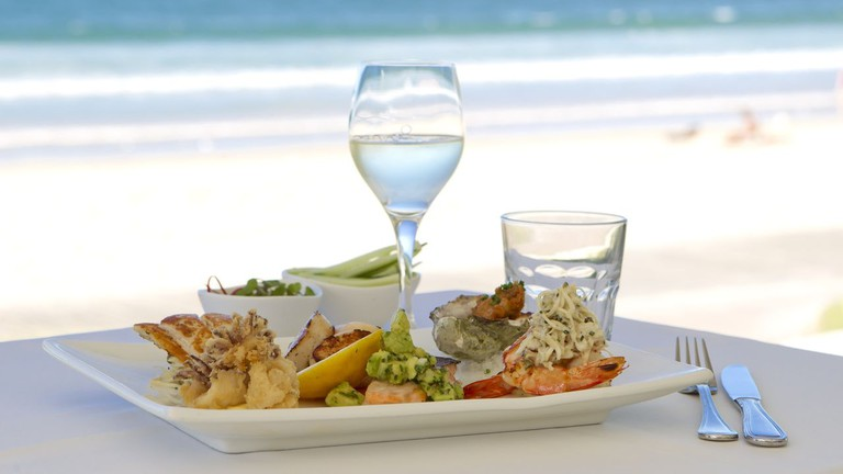 Seafood Tasting Plate
