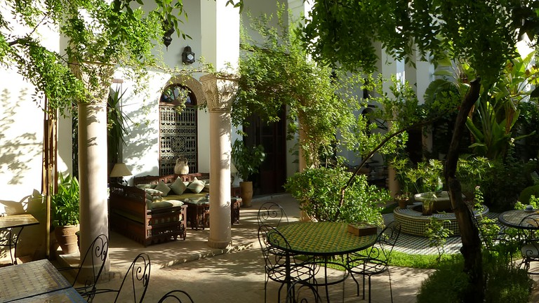 Arabo-Andalusian patio