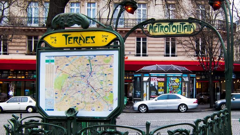 Ternes metro station │© Mark Fischer