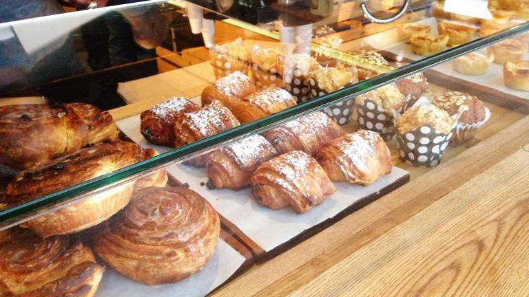 Pastries at Jason Bakery