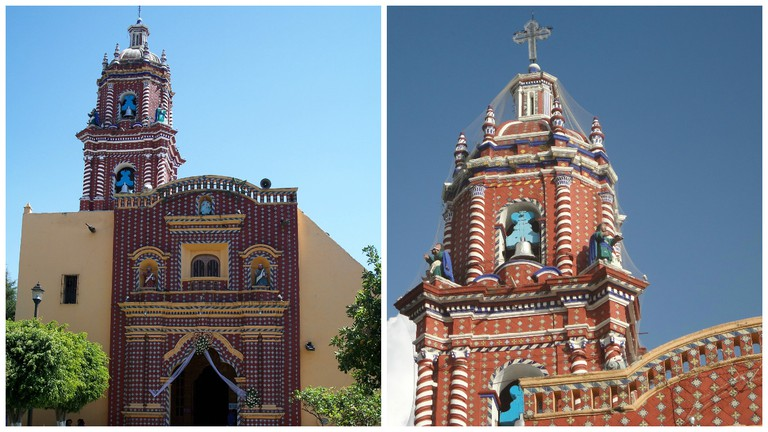 Iglesia de Santa María Tonantzintla, Cholula