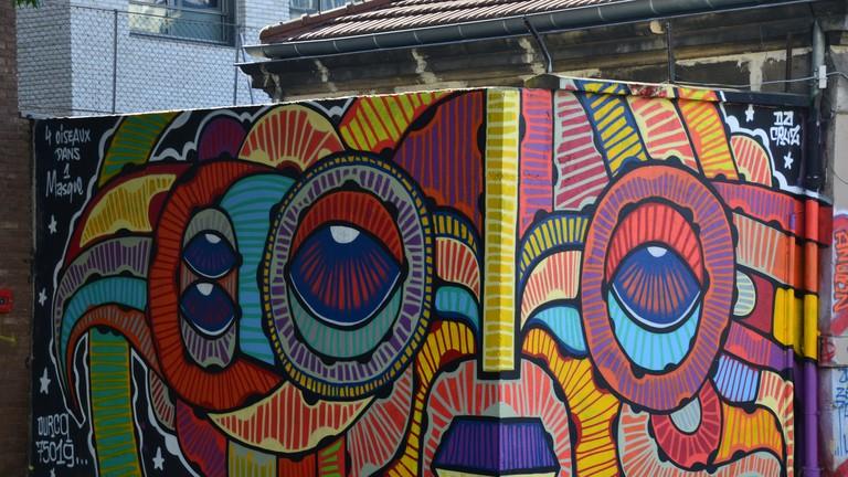Rue de l'Ourcq in October 2016 │© Pop H