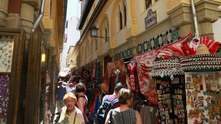 Graada's Alcaiceria market, formerly the city's Grand Bazaar