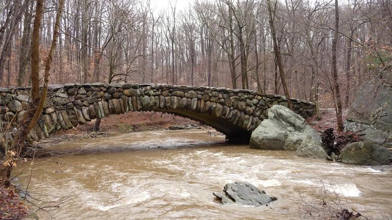 Bridge over Rock Creek along the Rock Creek Trail