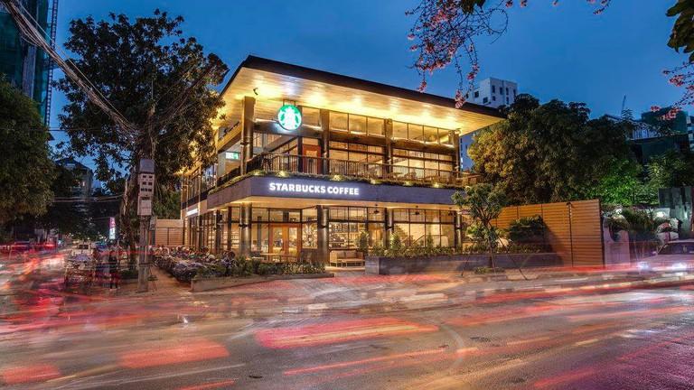 Starbucks in Phnom Penh