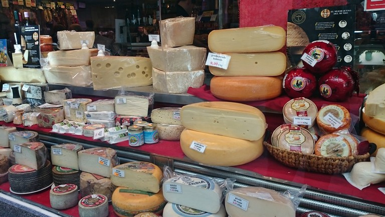 Cheeses at Ferpal