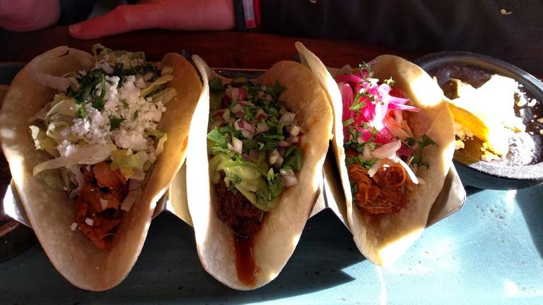 Tacos at Mexican Corner