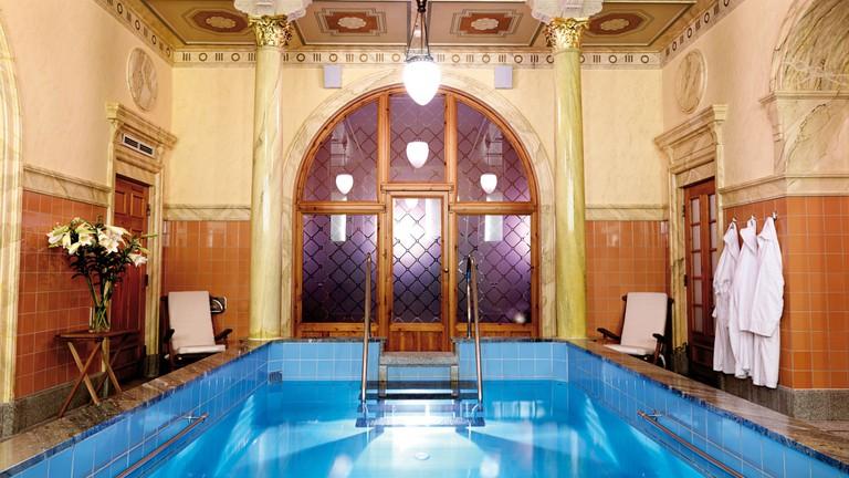 Turkish bath at Sturebadet