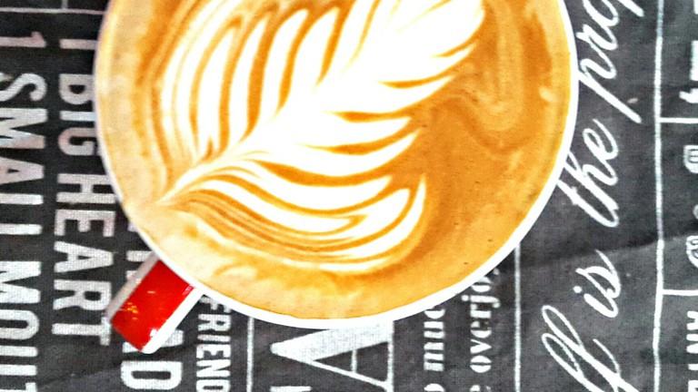 Coffee at R Caffe