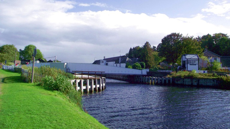 Caledonian Canal at Clachnaharry