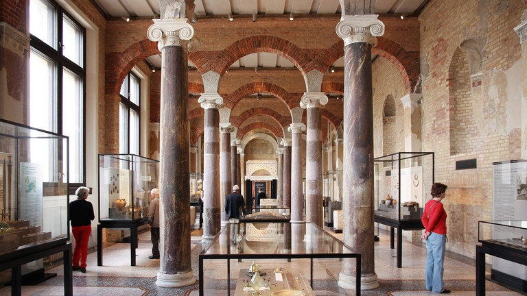 Explore ancient Egypt at the The Neues Museum, designed by David Chipperfield