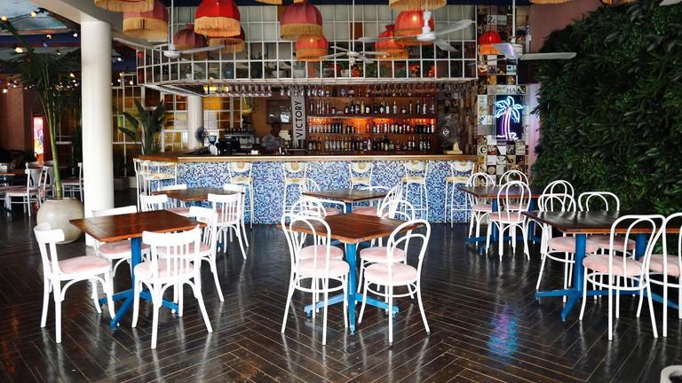 Brian Lara Rum Eatery interior
