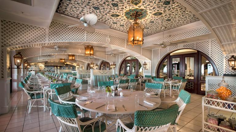 The Ocean Terrace restaurant interior