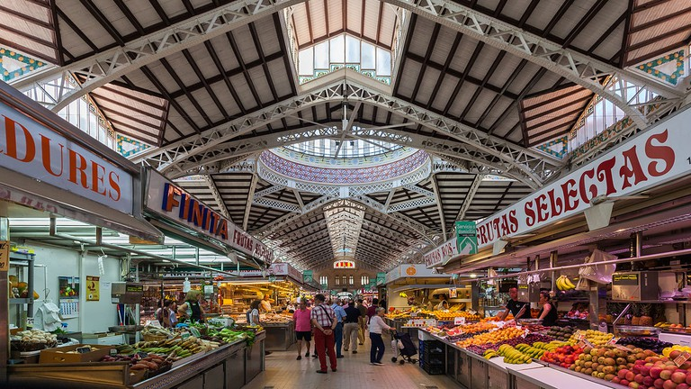 The Central Market of Valencia