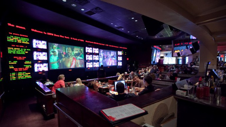 An example of a sports bar