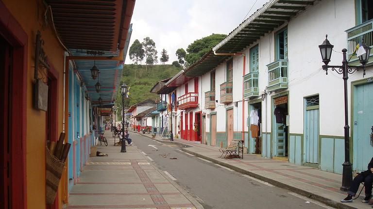 Calle Real de Salento, Quindio, Colombia