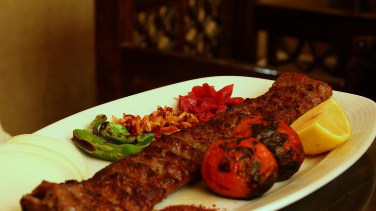 Reyhoon's kubideh kabab is the best